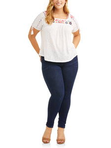 Women's Plus Size Full Length Super Soft JeggingWomen's Plus Size Full Length Super Soft Jegging - kats closet1