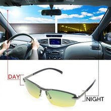 Load image into Gallery viewer, Polarized Sunglasses Driving Glasses Anti-glare Aluminum Magnesium Alloy Glasses CLOUDYY - kats closet1