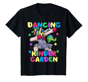 Kids Dancing Into Kindergarten Ballet Back To School T-Shirt