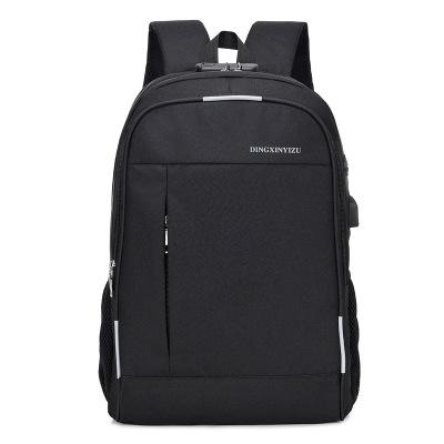 Anti Theft Backpack USB Charged Laptop Large Travel Bag