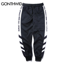 Load image into Gallery viewer, GONTHWID Striped Patchwork Harem Pants Mens 2017 Hip Hop Printed Color Block Casual Joggers Sweatpants Trousers Male Streetwear - kats closet1