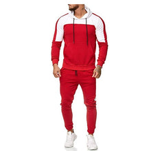 Load image into Gallery viewer, 2 Piece Men Zipper Hooded And Pants Track Suit