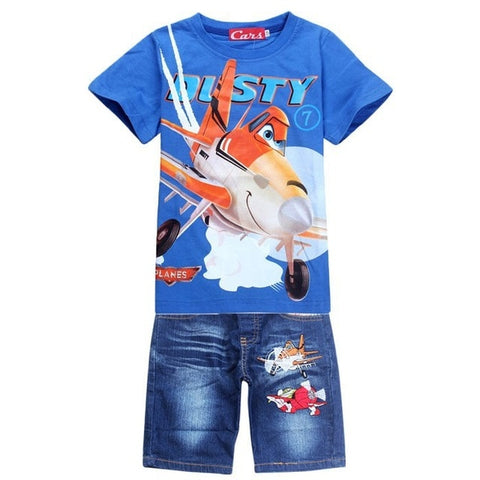 2 Piece Spiderman T Shirt  And Jeans Set