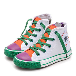 Children Lace UP Hi Top Sneakers