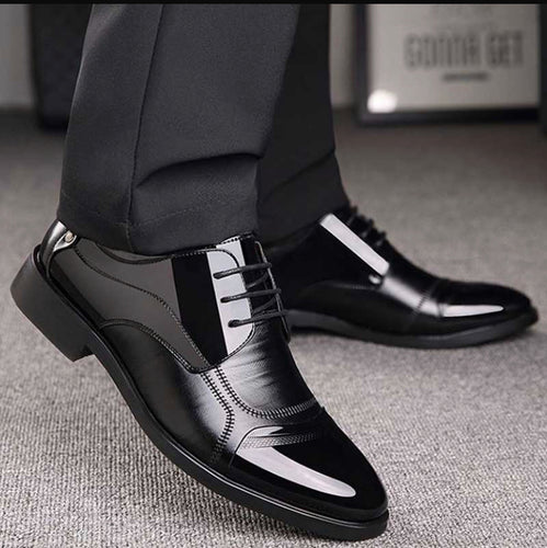 Business Luxury OXford Leather Formal Dress Shoes