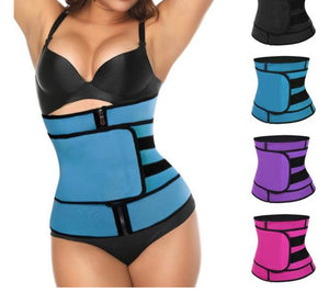 Slimming Belt Shapwear Strap Corset Zipper Body Shaper