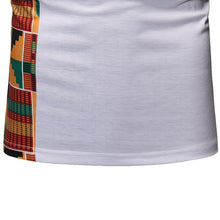 Load image into Gallery viewer, African Short Sleeves Geo Print T-Shirt