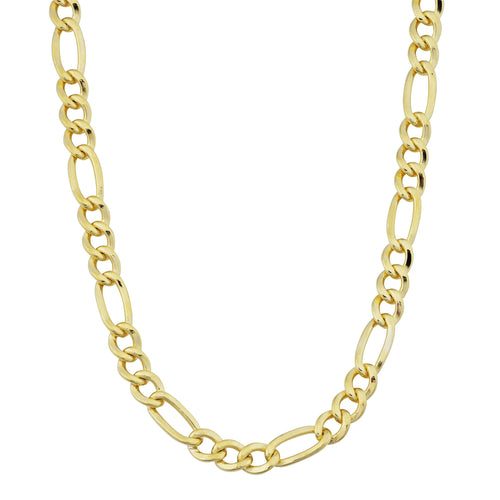 Fremada 14k Yellow Gold-filled Figaro Link Chain Necklace (18-36 inches) - kats closet1