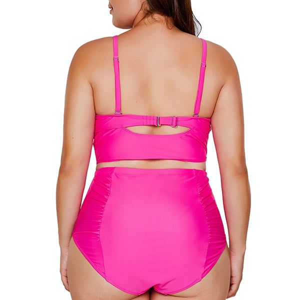 Plus Size Brazilian 2 Piece Swimsuit - kats closet1