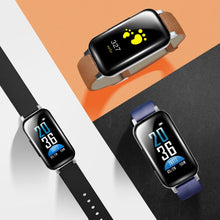 Load image into Gallery viewer, Wireless Bluetooth Earphones 5.0 Fitness Bracelet Heart Rate Monitor Sport Watch Headphone For IOS Android Phone