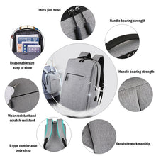 Load image into Gallery viewer, Anti Theft  Laptop USB Backpack