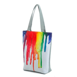 Canvas Shoulder Tote Shopping Bag