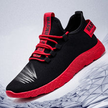 Load image into Gallery viewer, Breathable Lace Up Men Mesh No-Slip Sneakers