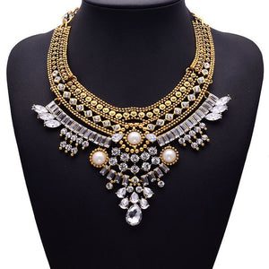 Collar Necklaces & Pendants Crystal Maxi Choker