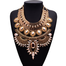 Load image into Gallery viewer, Collar Necklaces & Pendants Crystal Maxi Choker