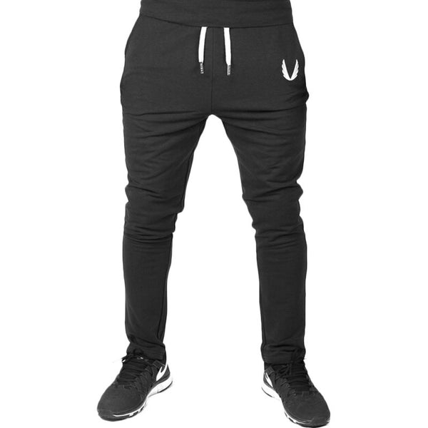 SJ 2017 new fashion mens casual pants Top quality Brand clothing sweatpants straight male trousers - kats closet1