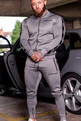 Men Long Sleeve Hoodies+Pants Set - kats closet1
