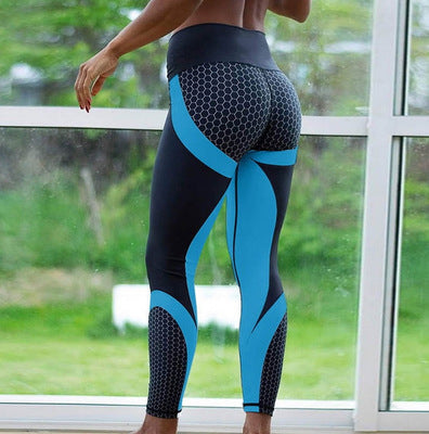 Fitness Mesh Breathable High Waist Workout Sport Leggings