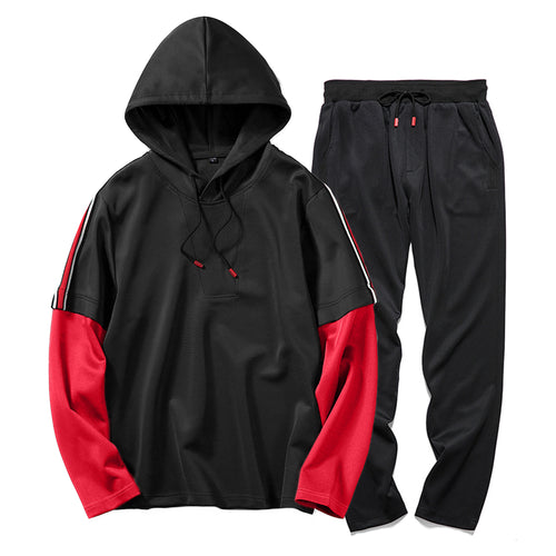 Two Piece Men Sweatsuit - kats closet1
