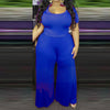 Plus Size Wide Leg One Piece Long Jumpsuit