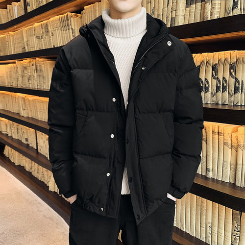 Men's Hooded Warm Winter Puffer Winter Coat