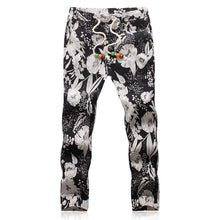 Load image into Gallery viewer, MISNIKI 2017 Summer Designer Linen Pants Men Printing Casual Jogger Pants Boys - kats closet1