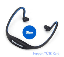 Load image into Gallery viewer, Wireless Headphone Sport Bluetooth Earphone Headset With Mic For Phone Support TF/SD Card