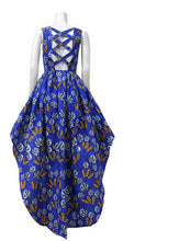 Load image into Gallery viewer, African Cotton Print Long Hem Dress