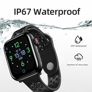 Waterproof Smartwatch With Heart Rate Monitor Blood Pressure Fitness Bracelet For iPhone iOS Android Watches