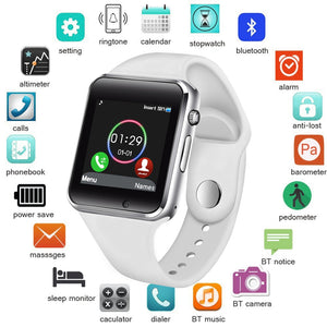Smart Watch Men Women Support Bluetooth Call Pedometer Waterproof Sport Smartwatch