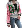 Bomber Sequins Long Sleeve Jacket