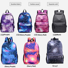 Load image into Gallery viewer, Anti Theft Starry Sky Backpack For Teenage Girls