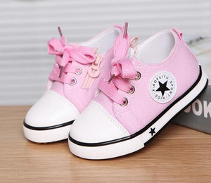 Star Fashion Lace-up Kids Sneakers