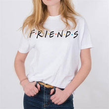 Load image into Gallery viewer, FRIENDS Print Short-Sleeve Round Neck T-Shirt