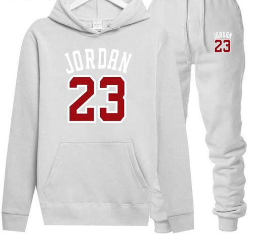 Two Piece Pullover Hoodie Sweatsuit - kats closet1