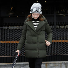 Load image into Gallery viewer, Dow parka women down jacket winter coat winter parka cotton padded jacket Woman Winter Jacket Coat 2017 - kats closet1
