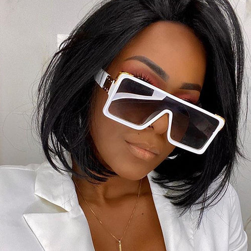 Square Oversize Shade Sunglasses
