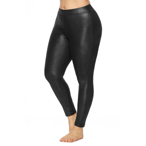 Plus Size Causal Skinny Leggings