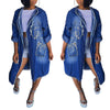 Long Sleeve Hooded Cloak Loose Denim Coat With Pockets