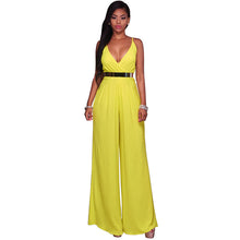 Load image into Gallery viewer, Wide Leg Loose Jumpsuit - kats closet1