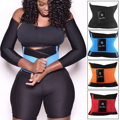 Waist Trainer Belt Hot Shapers Belly Wrap Trimmer Slimmer Compression Band for Weight Loss