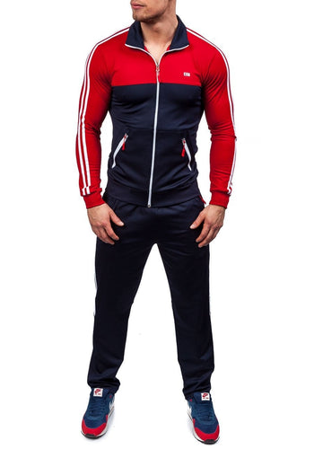 Casual Tracksuit Slim Fit Sports Suit - kats closet1
