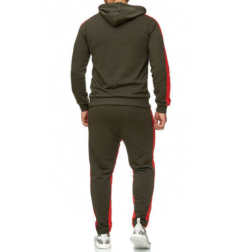 Two Piece Fitness Men Sweat Suit - kats closet1