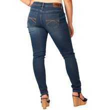 Load image into Gallery viewer, Zana-Di Womens Junior Plus Fashion Jeans, Medium Sandwash - kats closet1