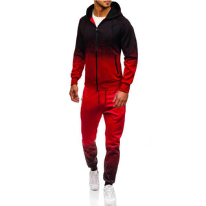 2 Piece Hooded Jacket/ Pants Track Suit