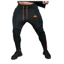 Load image into Gallery viewer, 2017 Brand New Gold Medal Fitness Casual Elastic Pants Stretch Cotton Men's Pants Gyms BodyEngineers Jogger Bodybuilding Pants - kats closet1