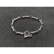 Load image into Gallery viewer, Bones Bracelet in Sterling Silver - kats closet1
