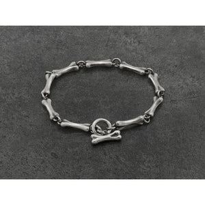 Bones Bracelet in Sterling Silver - kats closet1