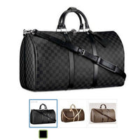 Women Large Capacity Leather Trunk Tote Shoulder Big Crossbody Bags