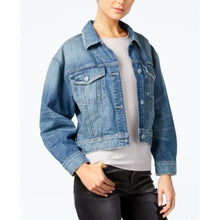 Load image into Gallery viewer, GUESS Women's Cropped Denim Jacket Size XS - Movaz Trade - kats closet1